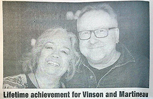 Hinton Voice: Vinson and Martineau Lifetime Achievement Award